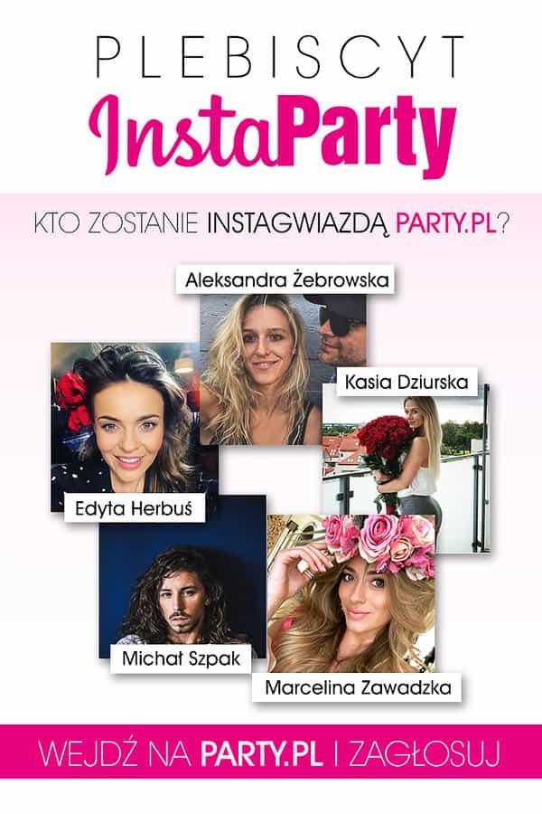 Plebiscyt na InstaGwiazdę portalu Party.pl