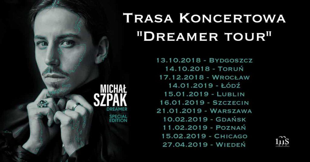 """Concert tour """"Dreamer Tour"""""""